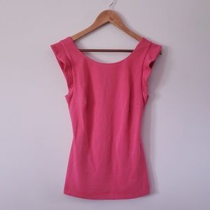 Bailey 44 Top Spin Rose Pink Top NWT